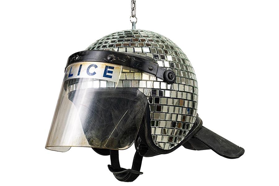 Banksy Offers Met Ball Discoball Helmet Online