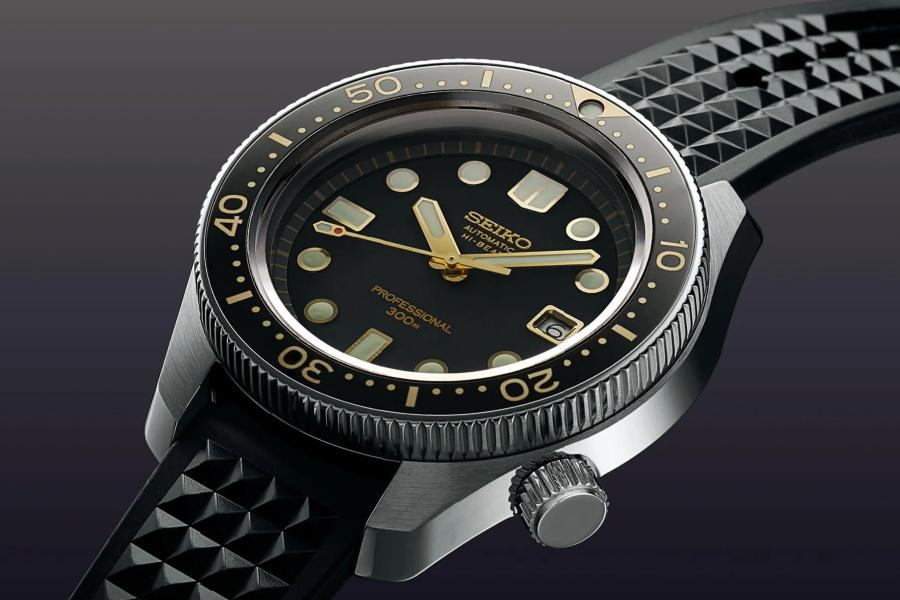 Dial of a Seiko watch