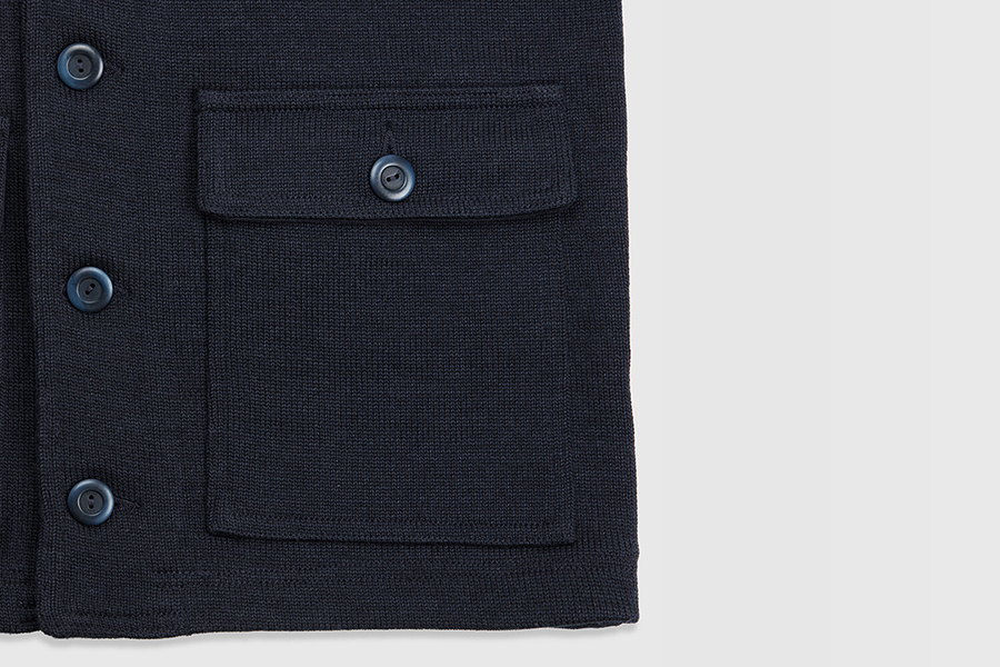 Best Made Co. X Dehen Submariner Coat side pocket