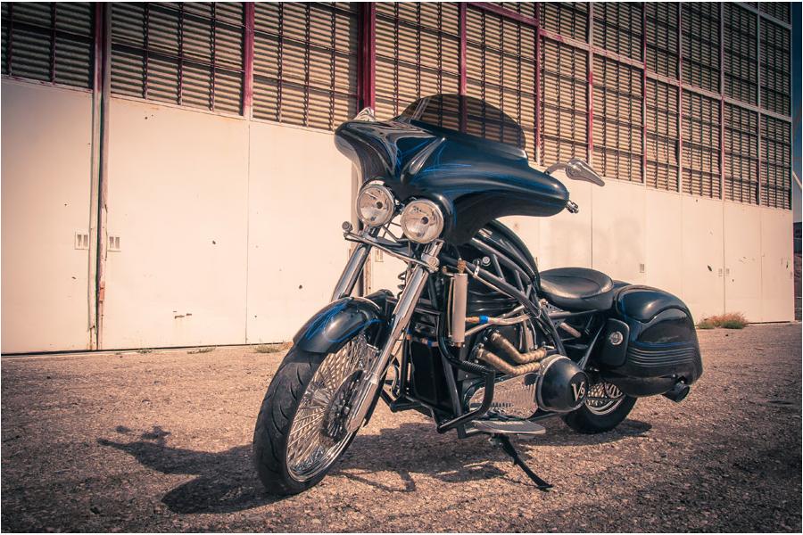 Brutus V9 motorcycle