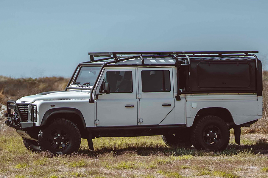 defender 130 expedition vehicle