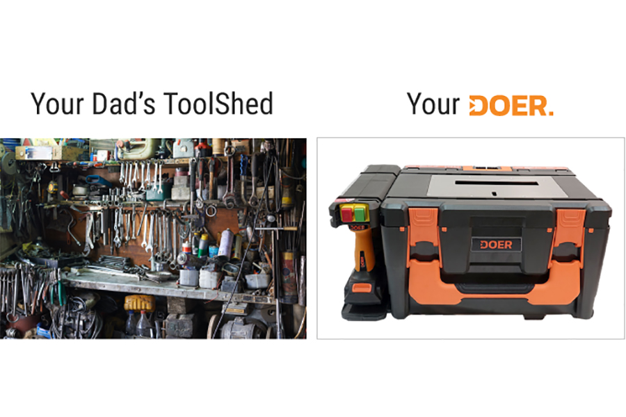 Doer kit tool comparison to normal dad's tool