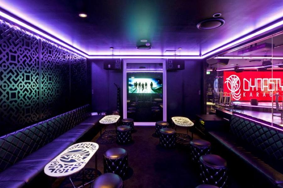 Interior ofDynasty Karaoke
