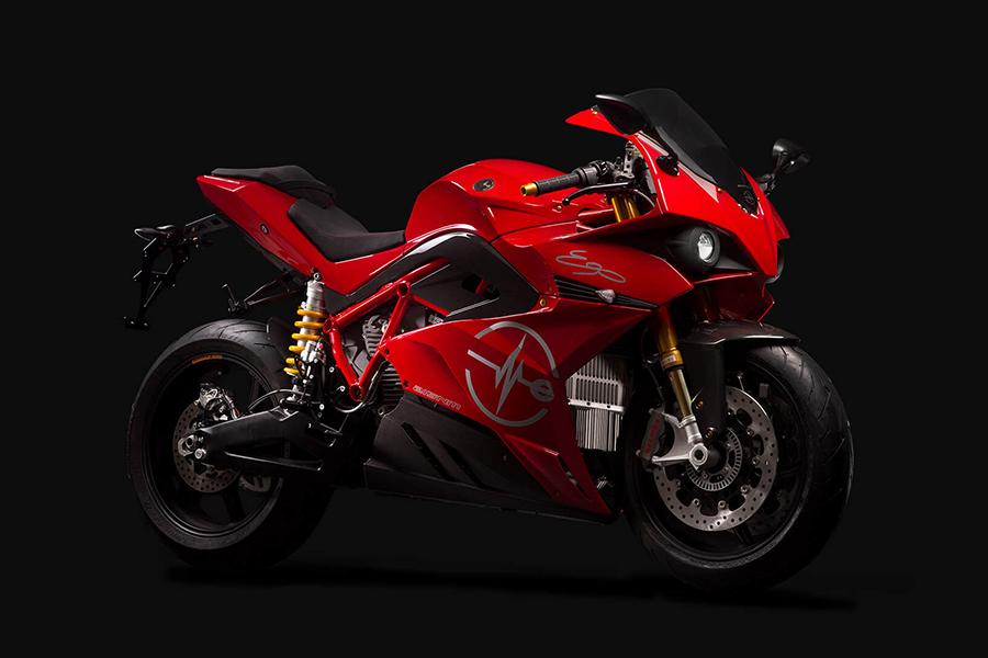 Energica Ego motorcycle