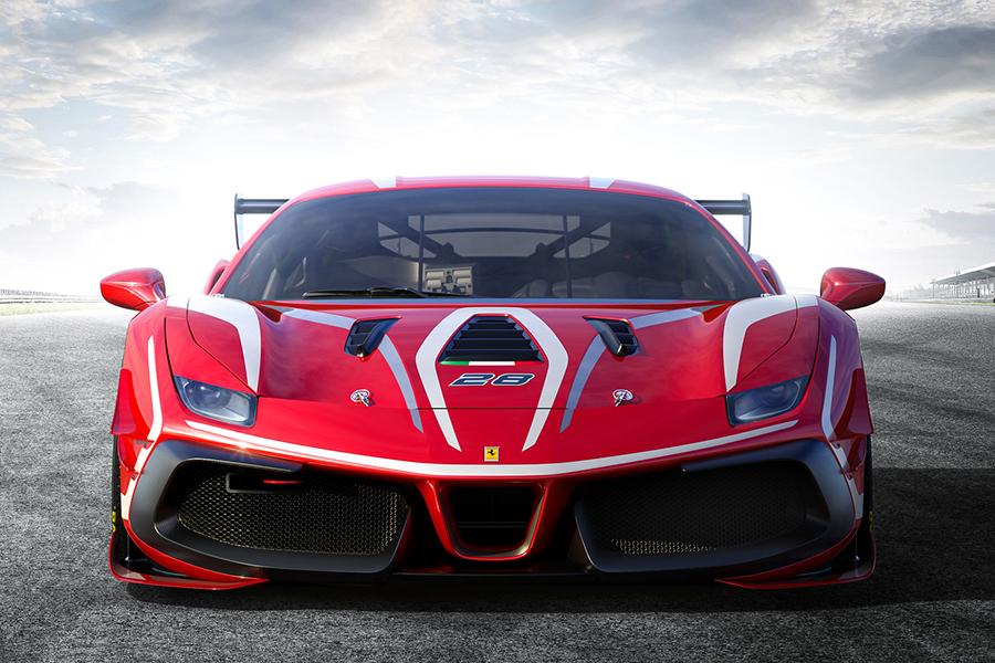 Ferrari 488 Challenge Evo front