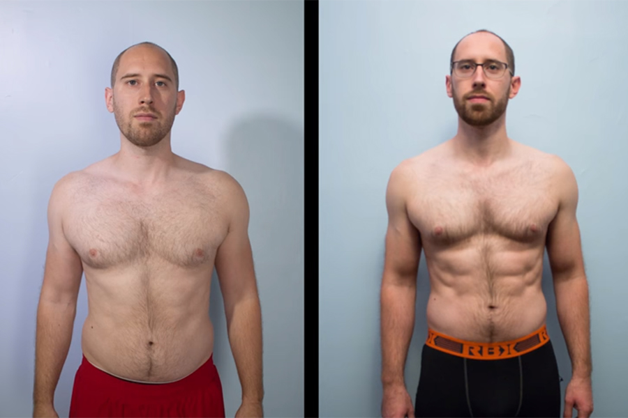 Here's How this Guy Got a 6 Pack in 6 Weeks