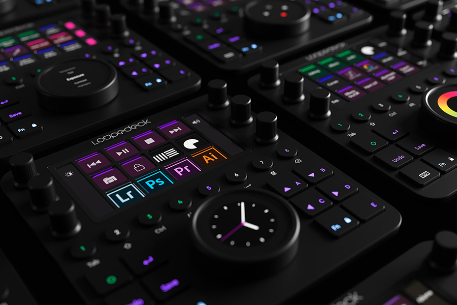 Loupedeck Editing controller for lightroom