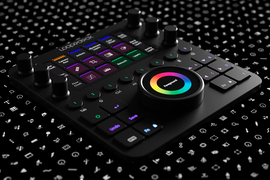 Loupedeck Editing can b use to edit Adobe software