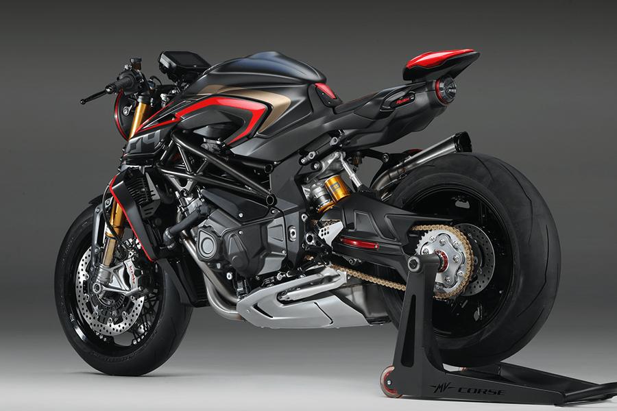 mv augusta superbike back