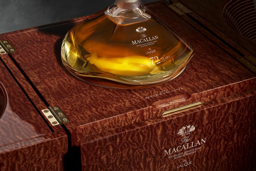 The Macallan 72YO in Lalique