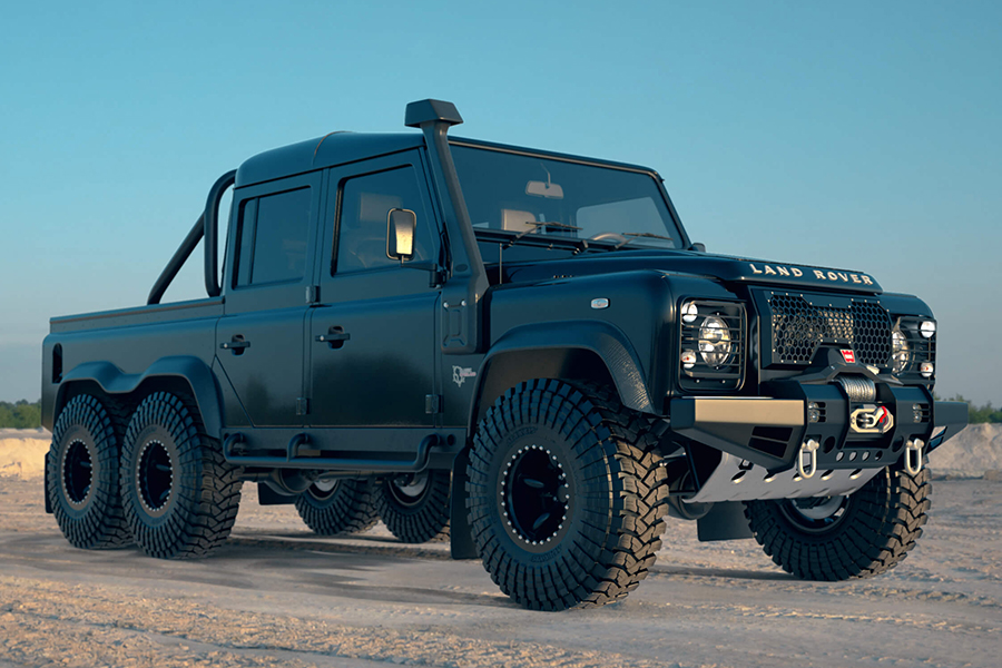 black mamba defender side view