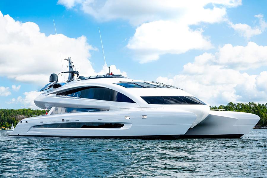 royal falcon luxury yacht