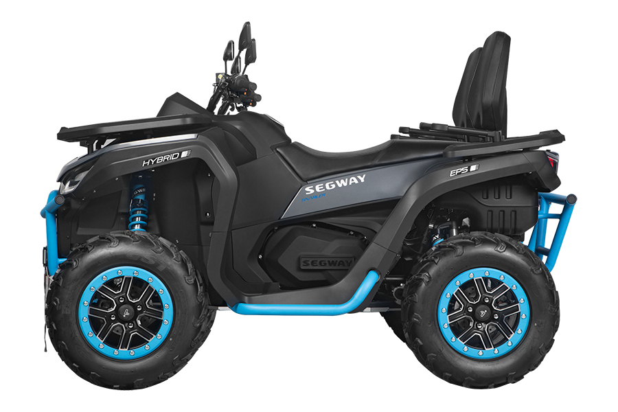 Segway Powersports ATV blue in color