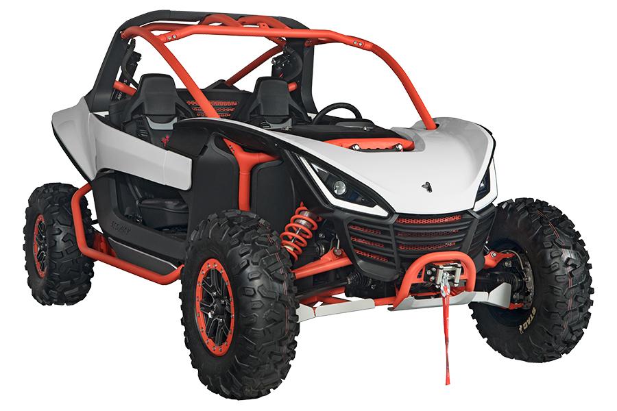 Segway Powersports ATV wheel