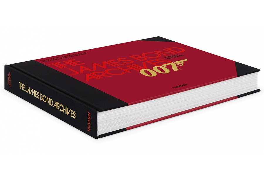 james bond coffee table book
