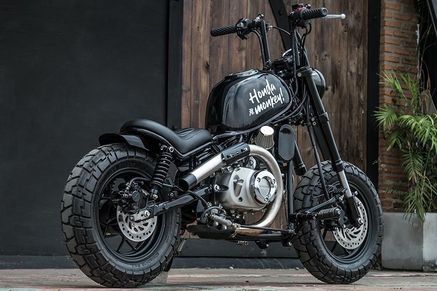 Zeus Custom's Honda Monkey 125 'JAAK' Is A Testament To The Bobber Aesthetic