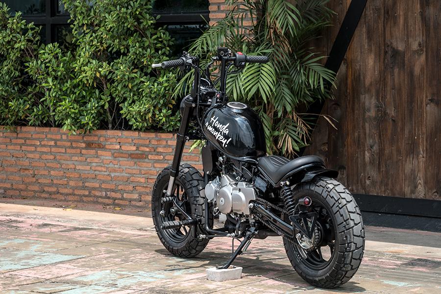 zeus customize honda motorcycle back