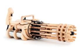 rubber band minigun