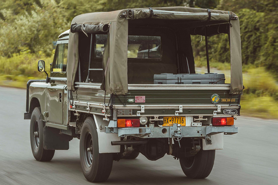Land Rover Series II back