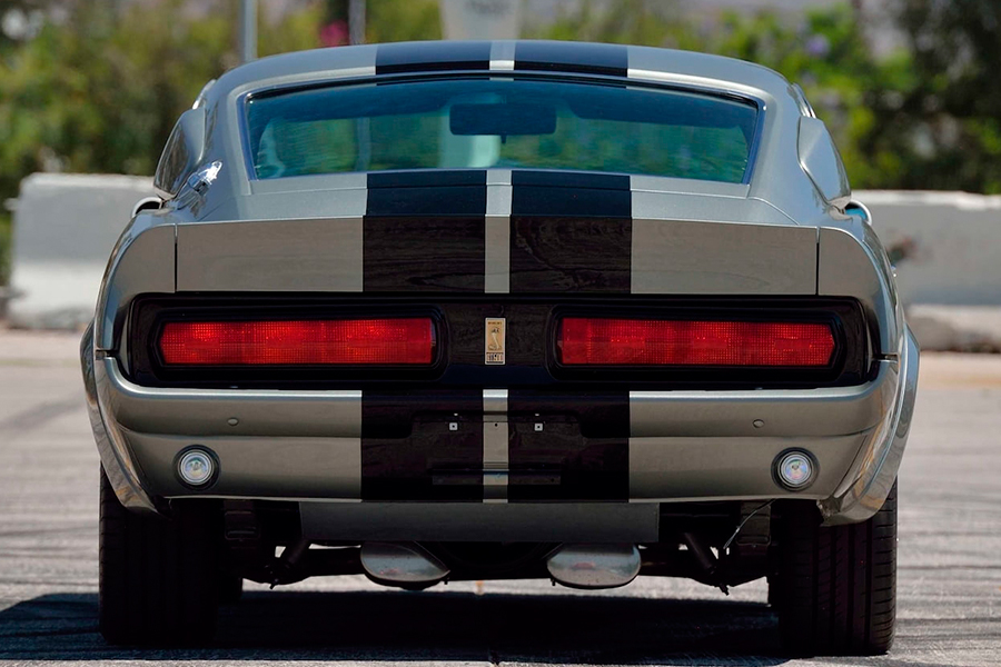 ford mustang eleanor back view