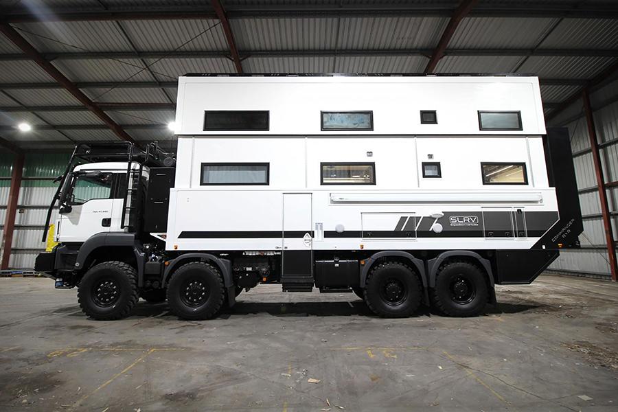 2 story 8-Wheel-Drive Overlanding Camper RV