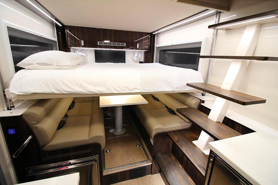 8-Wheel-Drive Overlanding Camper RV bedroom
