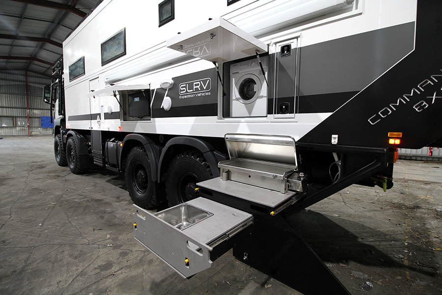 8-Wheel-Drive Overlanding Camper RV