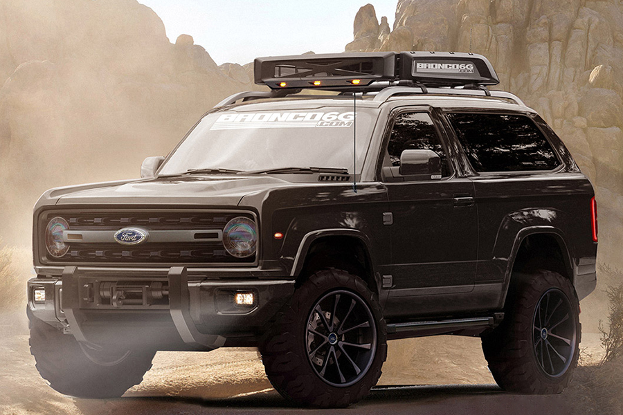 2020 Ford Bronco Concept Fuels More Excitement | Man of Many
