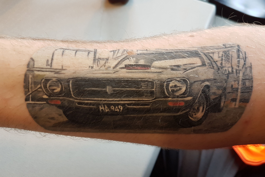 Car Tattoo