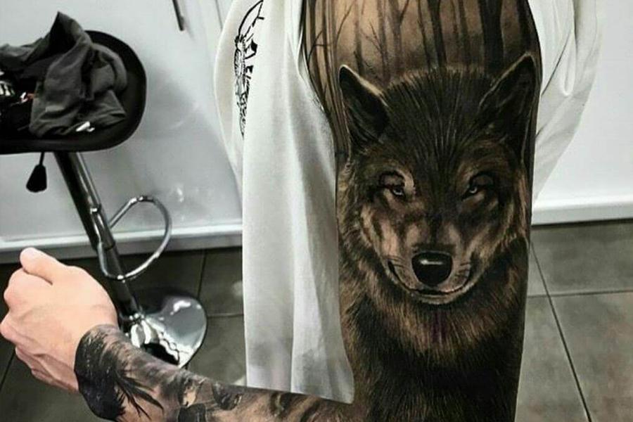 Tatuaj Lup
