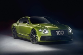 Green Bentley Limited Edition Continental GT
