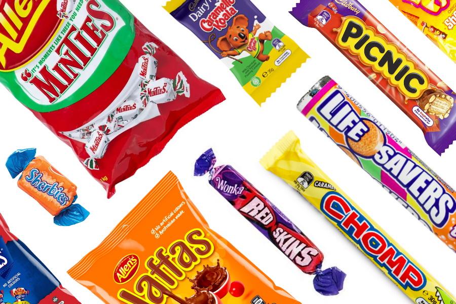 Aussie Lollies Candy