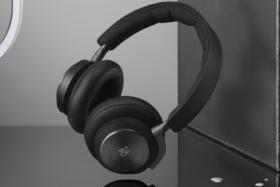 Black Bang & Olufsen H9 headphones