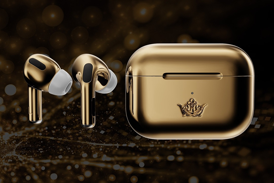 Caviar Airpods Gold Edition