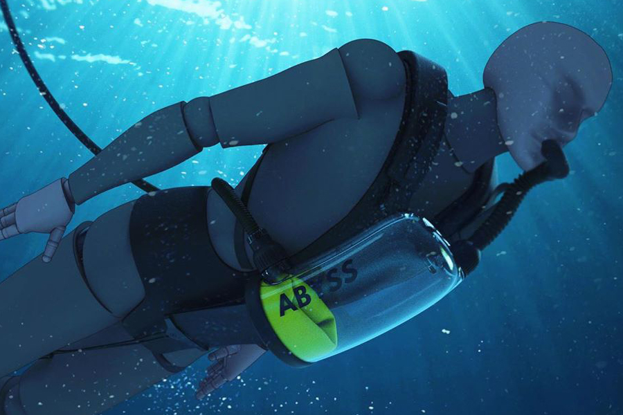 exolung underwater device