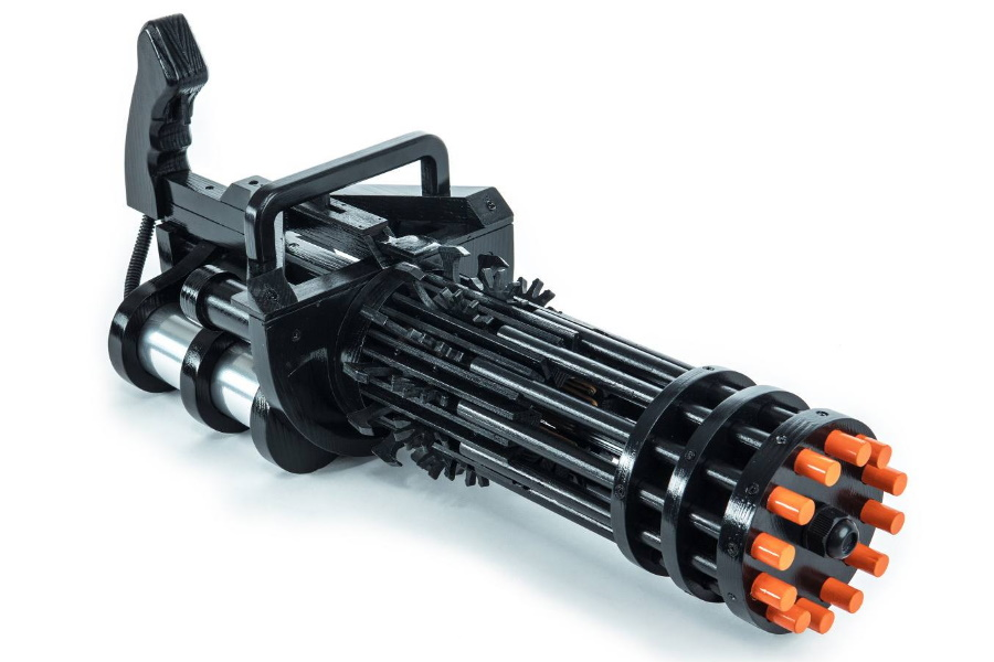 Rubber Band Gatling Gun