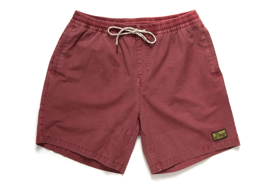 Deus Ex Machina Sandbar Solid Garment Dyed Shorts