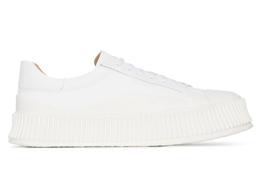 Jil Sander Leather Low Top