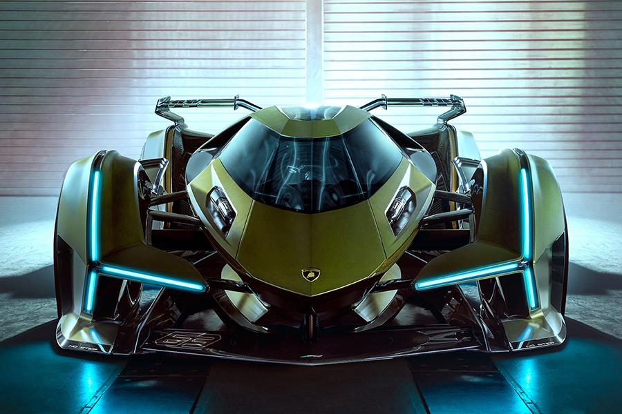 Lamborghini Lambo front view