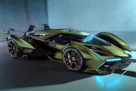 Lamborghini Lambo side view
