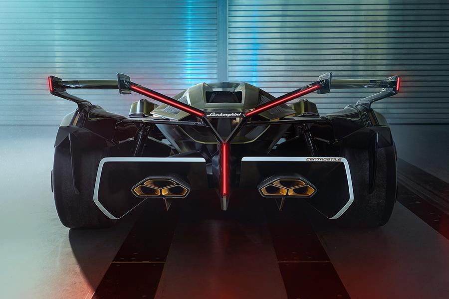 Lamborghini Lambo back view