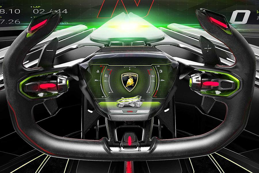 Lamborghini Lambo steering wheel