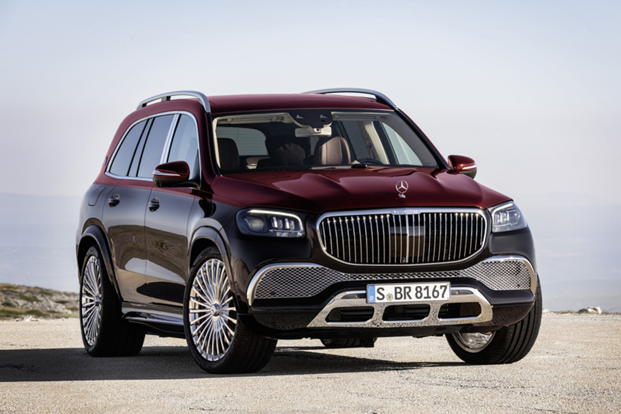 Mercedes Benz x maybach suv vechicle