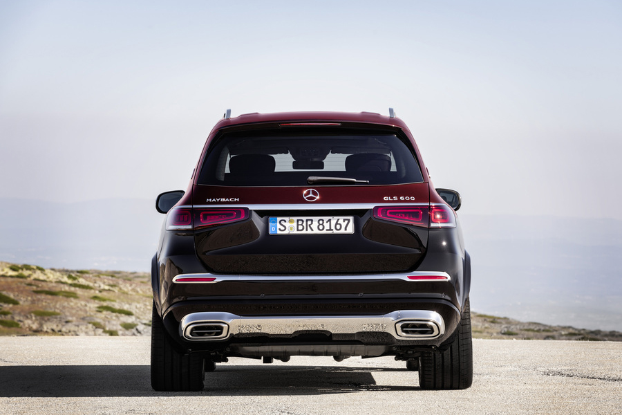 Mercedes Benz x maybach back view