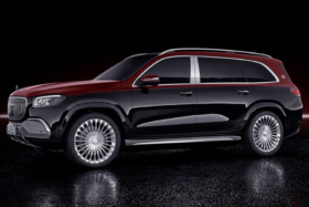 Mercedes Benz x maybach side view