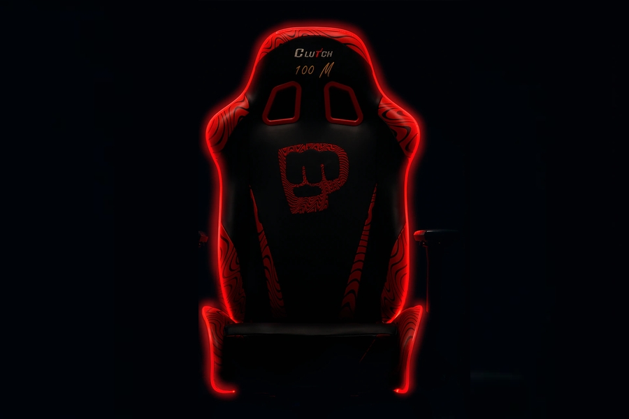 Pewdiepie LED 100M Edition - Throttle Series Clutch Chair
