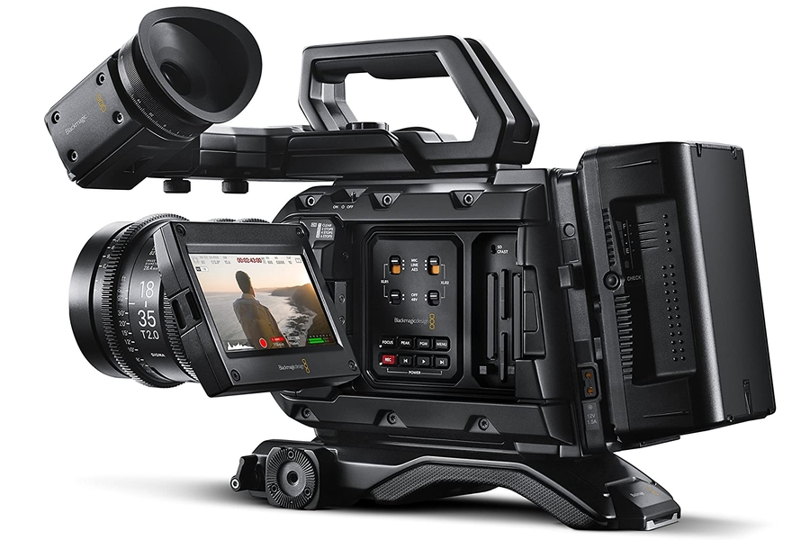 Blackmagic Design URSA Mini Pro 4.6K Camera with EF Mount
