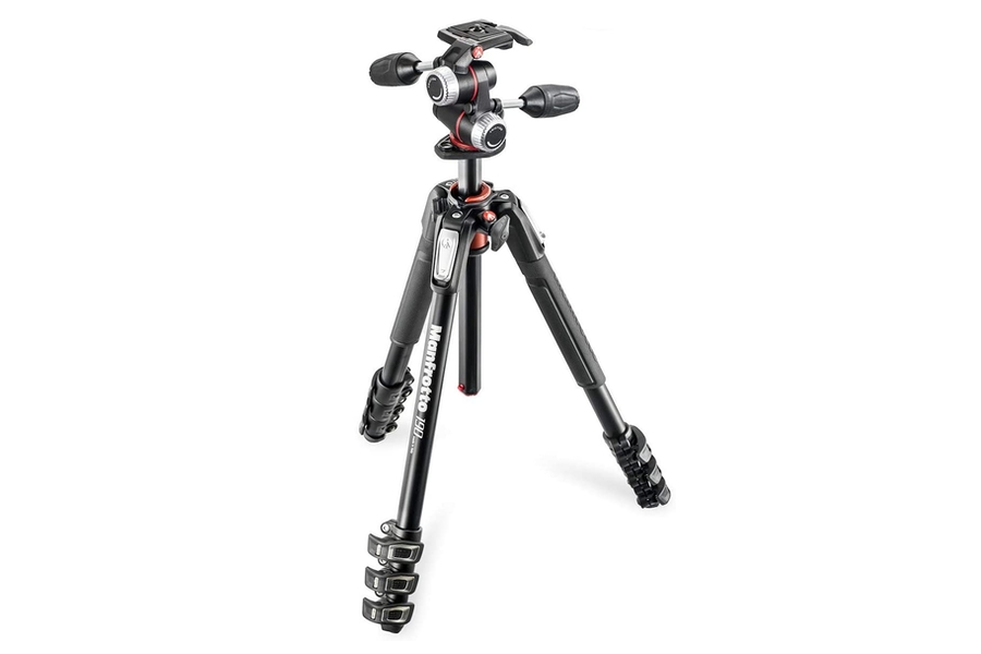 Manfrotto 190 Kit Alu 4-Section Tripod