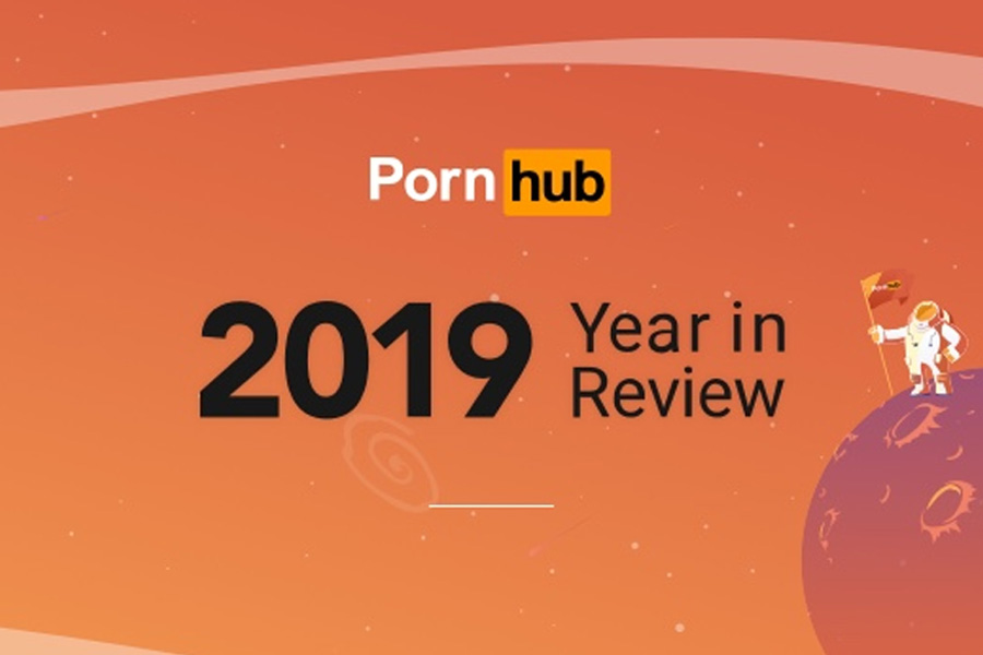 Pornhub 2019 Year in Review infographic