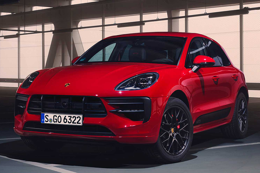 Porsche 2020 Macan GTS front